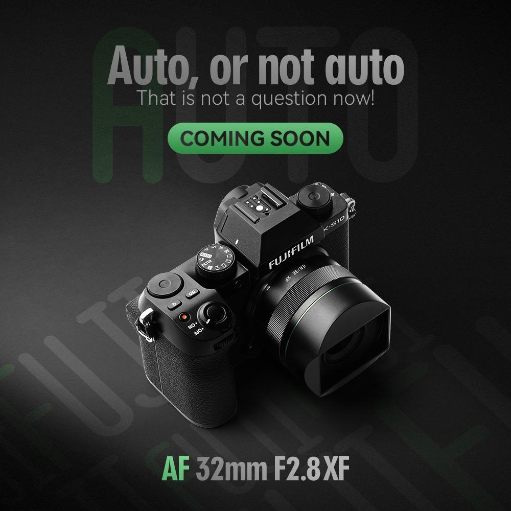 TTArtisan AF 32mm f/2.8 XF с камерой Fujifilm