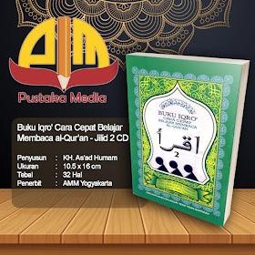 Buku IQRO' Cara Cepat Belajar Membaca Al-Qur'an Jilid 2 KECIL