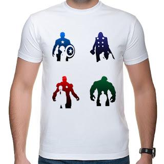 koszulka Kapitan America, Thor, Iron Man, Hulk
