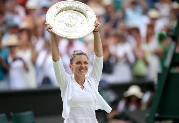 Halep beats Serena Williams to win Wimbledon singles title