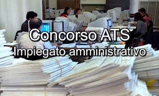 Concorso e lavoro ATS - www.adessolavoro.com
