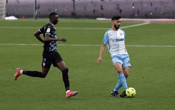 El Almería gana de gran pegada en La Rosaleda (0-3)