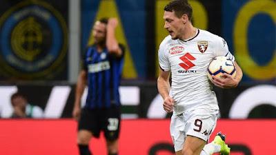 Sempat Unggul 2 Gol, Inter Milan Gagal Taklukkan Torino