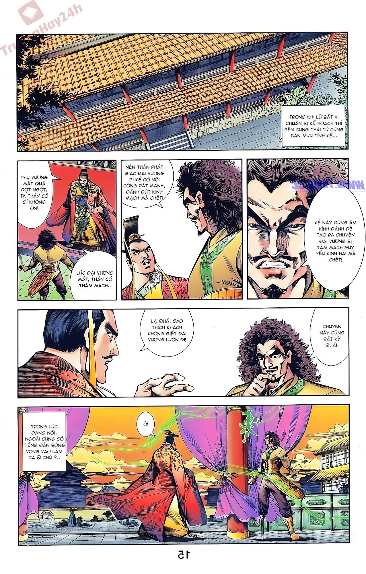 Tần Vương Doanh Chính chapter 42 trang 27