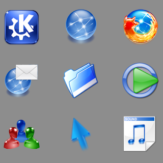 Crystal Remix icons