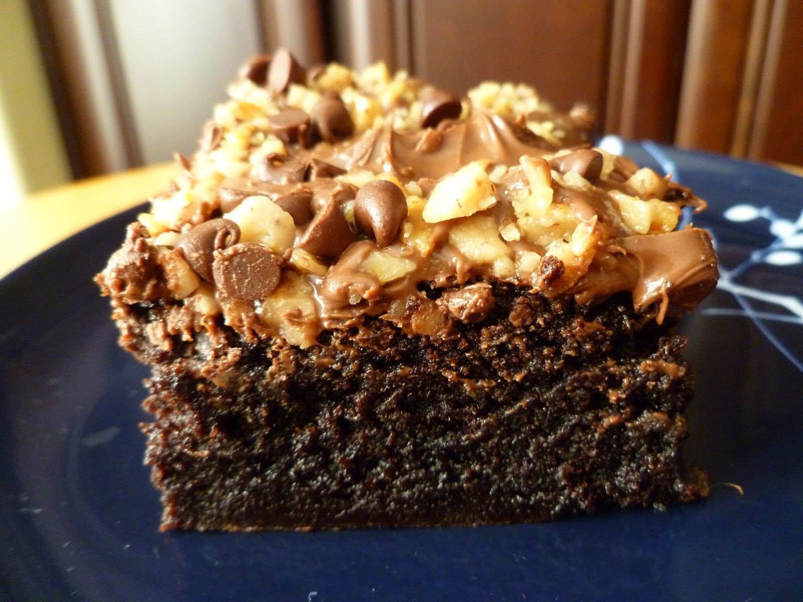 Nutella Topped Brownies The Pastry Chefs Baking Salted Caramel Swirl Brownies Topped