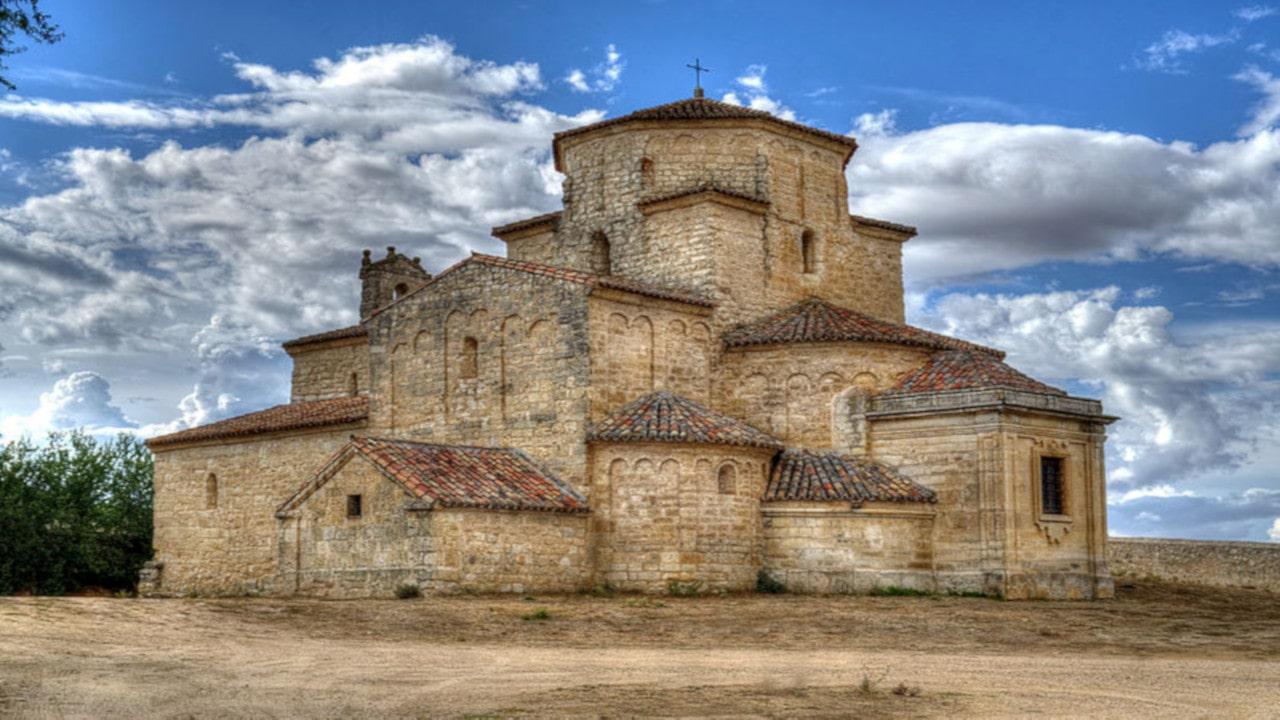 materiales de la arquitectura romanica