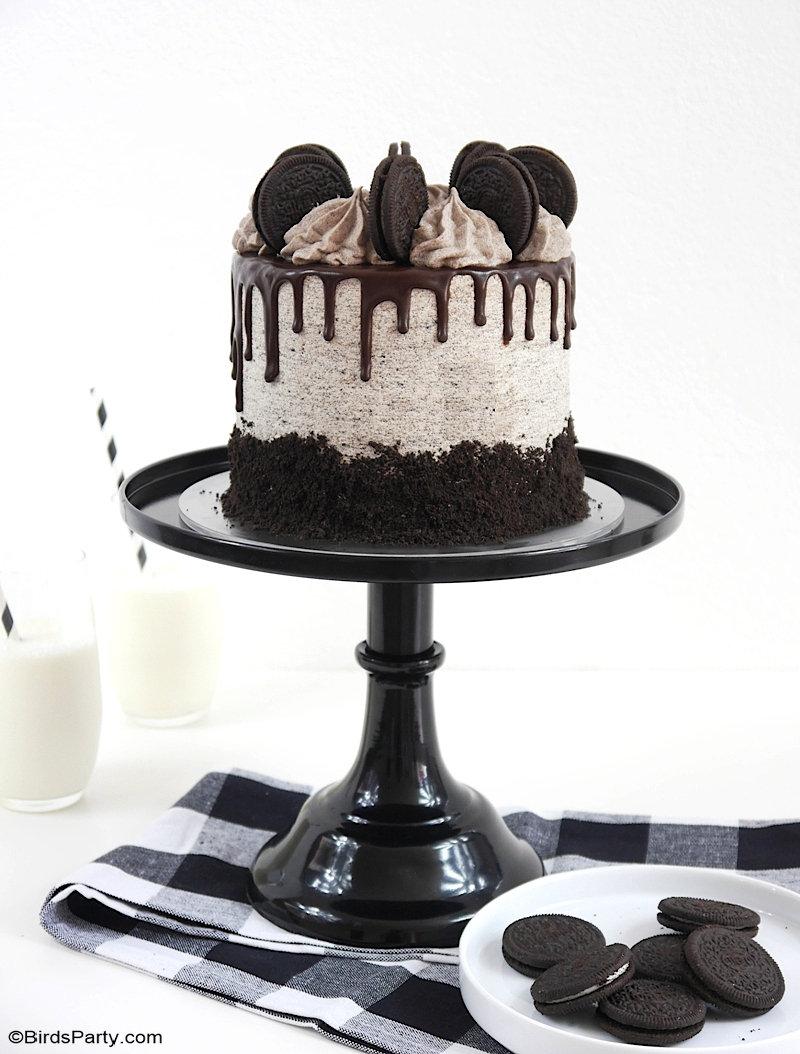 Recette de Gâteau Chocolat Oreo