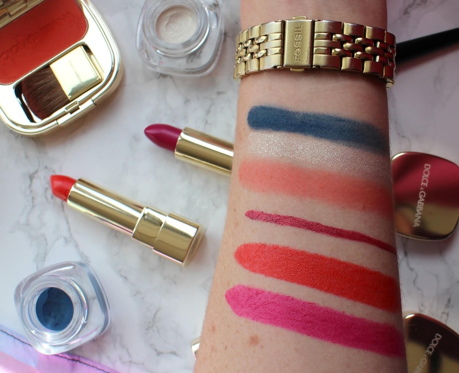 Dolce+Gabbana-SummerinItaly-Makeup-2016-Swatches