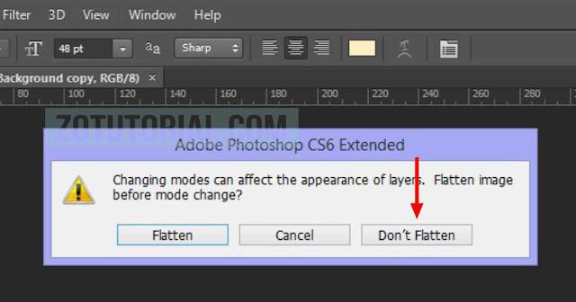 Cara Mengubah RGB atau CMYK di Photoshop (Mode Color)