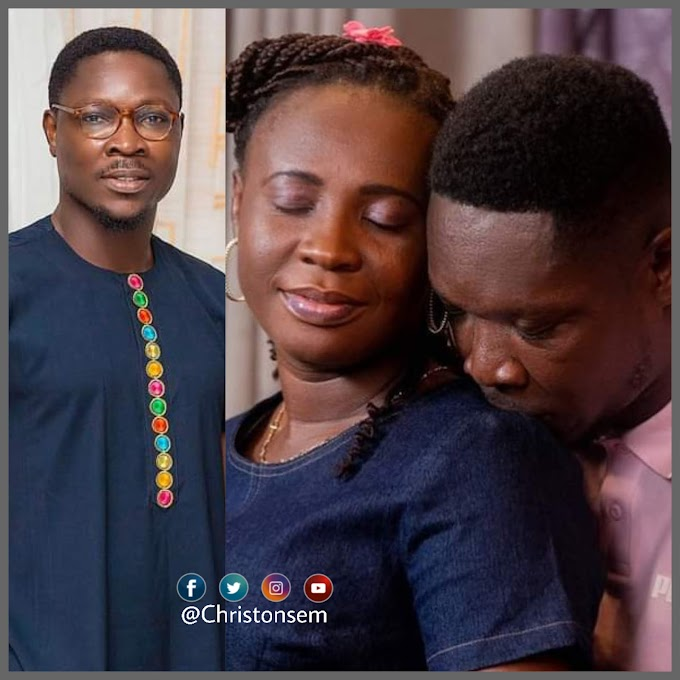 """""""Happy birthday to the wind beneath my sail.""""- Check out Akesse Brempong's birthday message to his wife"""