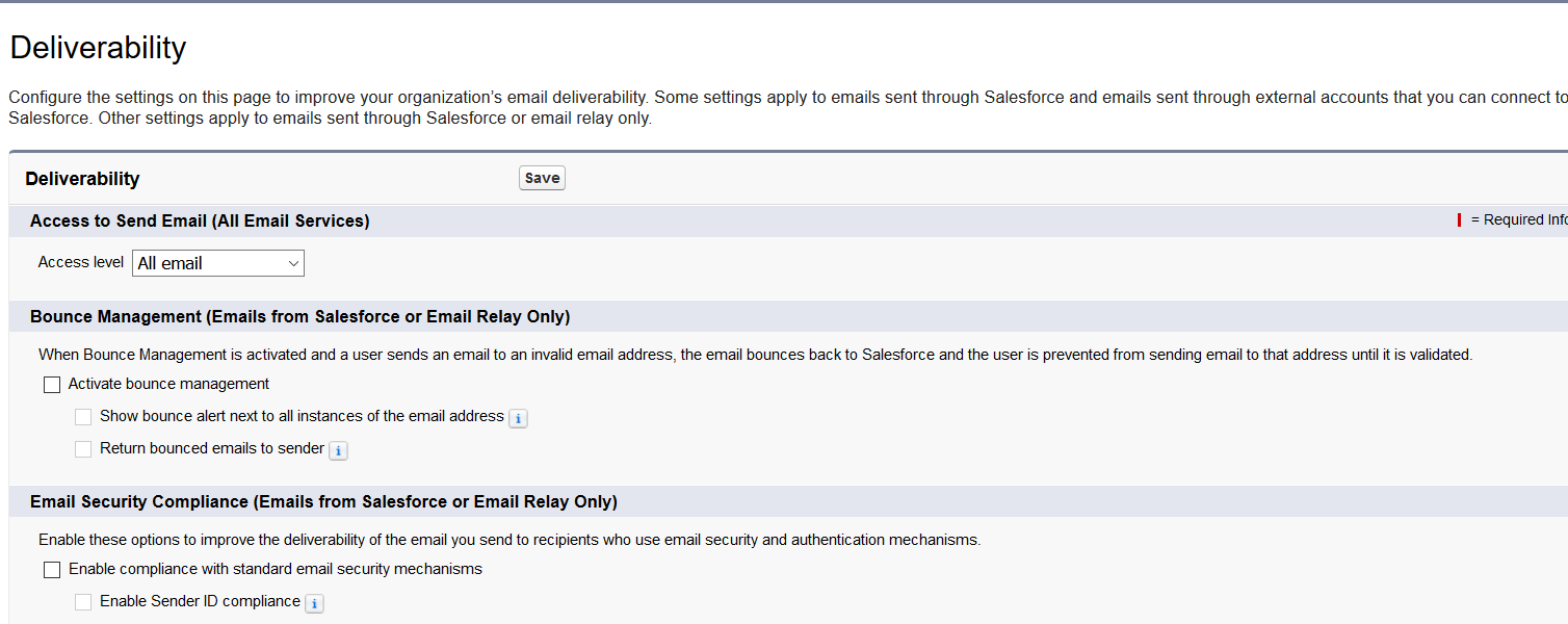 How to Handle Emails trigger from salesforce moving to SPAM