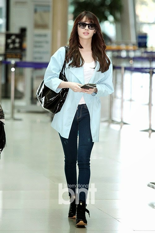 Girl 39 S Day Yura Airport Fashion Official Korean Fashion