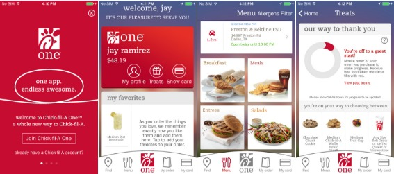 apple apps chick fil a