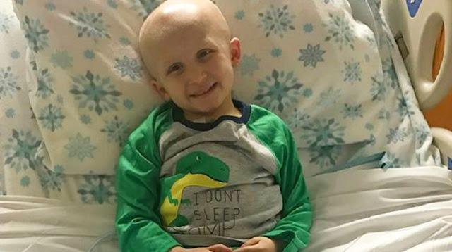 Ее сын сражался с раком. Перед тем, как уйти, он сказал лишь 4 трогательных слова