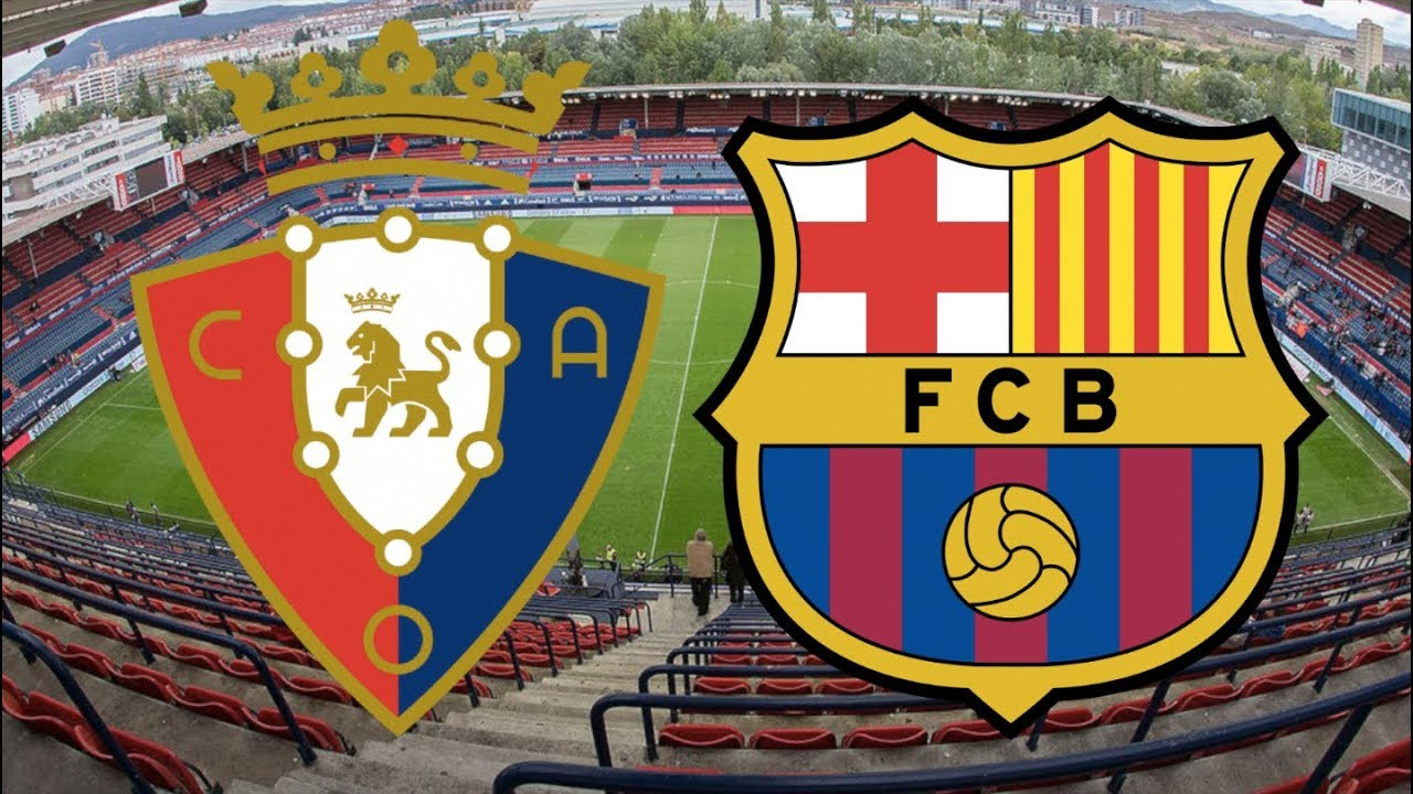 بث مباشر مباراة برشلونة واوساسونا