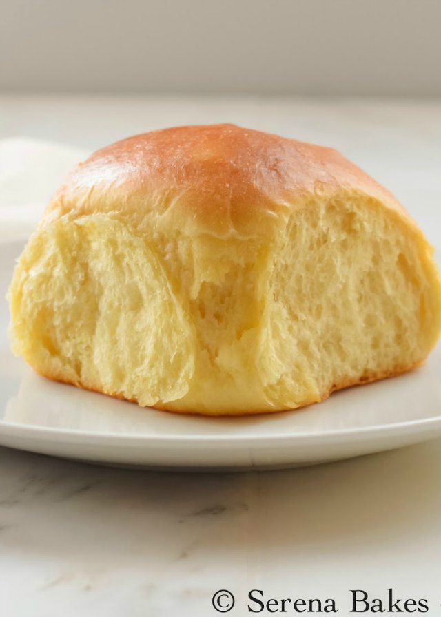 Hawaiian Dinner Rolls recipe are pillow soft and sweet making them a favorite for Thanksgiving, Christmas, Easter, or just because! They make great sliders too from Serena Bakes Simply From Scratch.