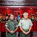 Pangdam XII/Tpr Terima Kunjungan Timbal Balas Panglima Medan Timur TDM