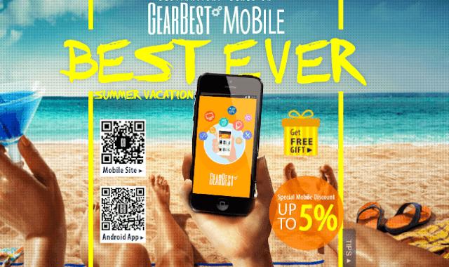 ¡Gearbest lanza sus mejores ofertas de Verano (Sorteos incluidos)!