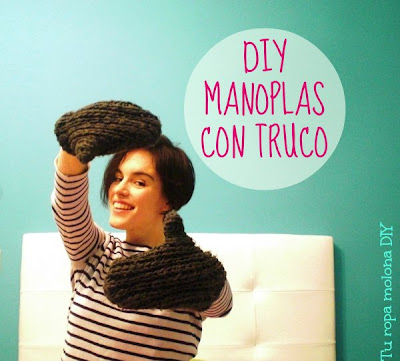 diy manoplas recicladas