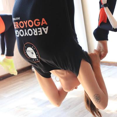 yoga aérien stage