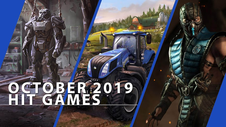 playstation now fallout 4 farming simulator 19 mortal kombat x hit ps4 games october 2019