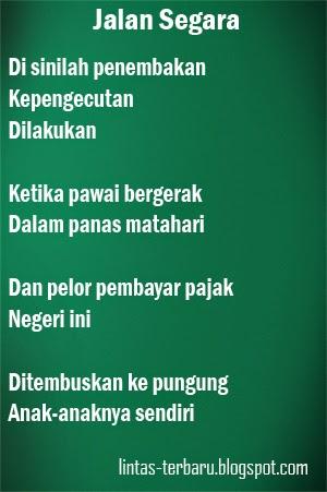 Puisi Taufiq Ismail