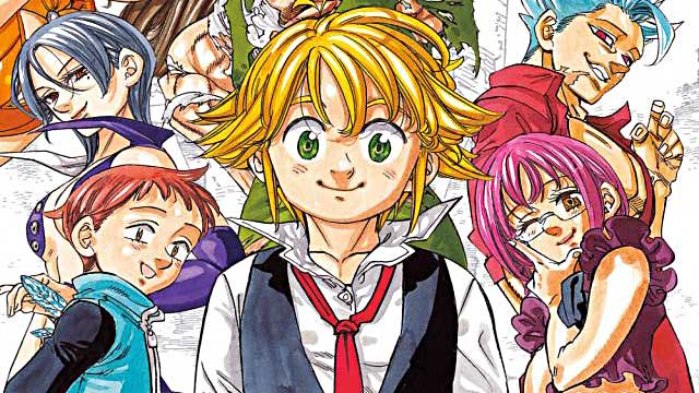 Where does The Seven Deadly Sins anime end in manga