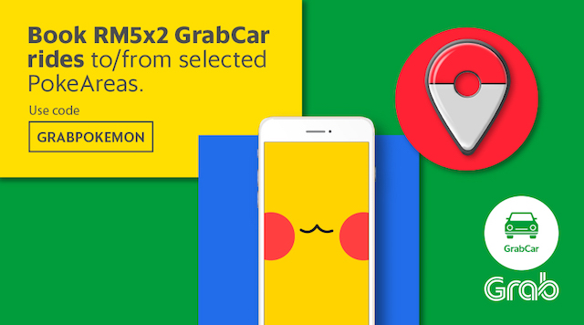 Book RM5x2 GrabCar rides today!