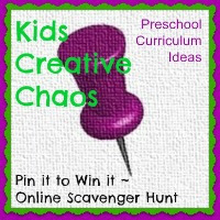 Art Projects for Preschool Kids from Pinterest Scavenger Hunt.