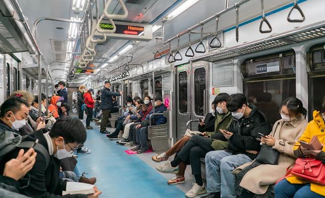 Коронавирус в Южной Корее фото
