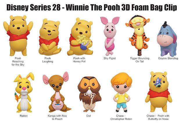 Toy Fair 2020 Monogram Winnie the Pooh Foam Figures