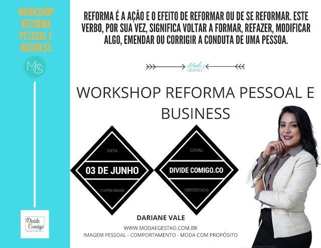 Workshop Reforma Pessoal e Business