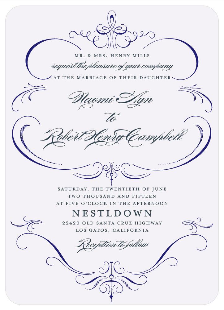 Formal Wedding Invitations: What's Your Wedding Invitation