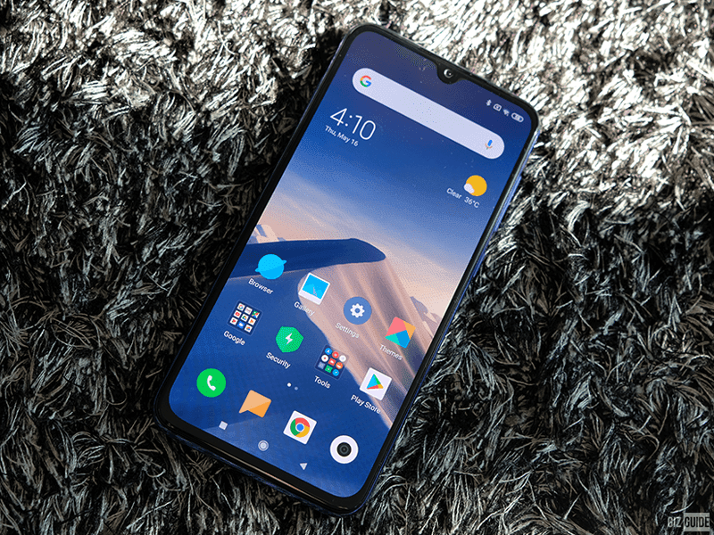 AMOLED screen for less
