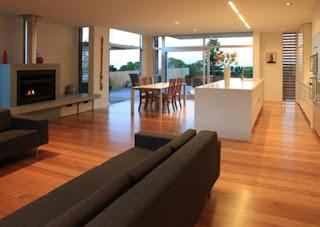 Modern beach house design