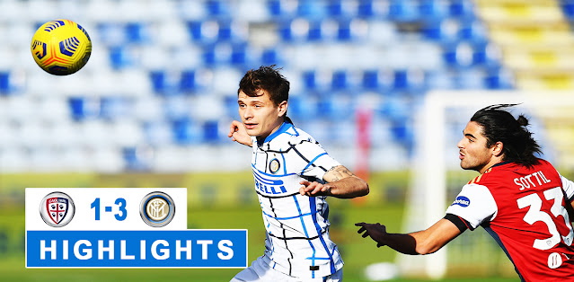Cagliari vs Inter – Highlights