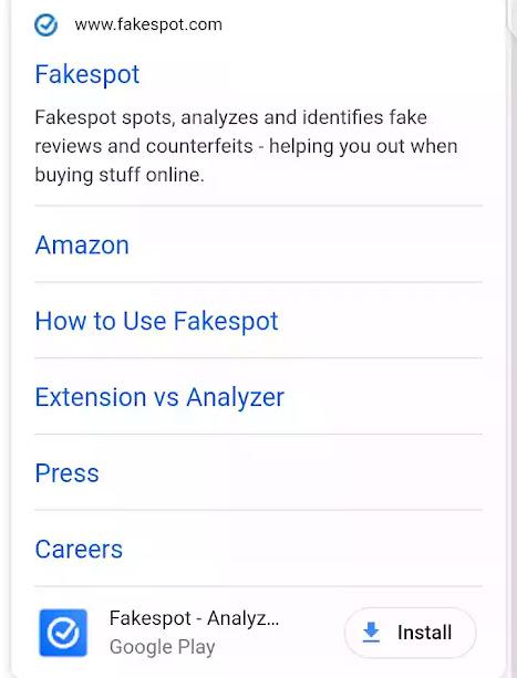 fake spot