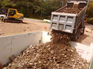 Backfilling With Imported Soil