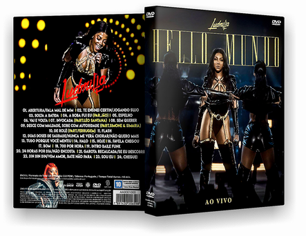 LUDMILLA HELLO MUNDO AO VIVO DVD-R