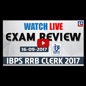 Exam Review With Cut Off | IBPS RRB CLERK 2017 | 16 September-Ist Shift