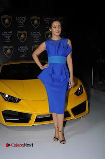 Actress Neha Sharma Latest Stills in Blue Dress at Lakme Fashion Week Summer Resort 2017  0008.jpg
