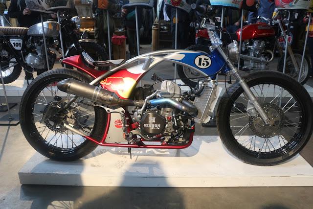 the one moto show number 9 custom build custom motorcyles