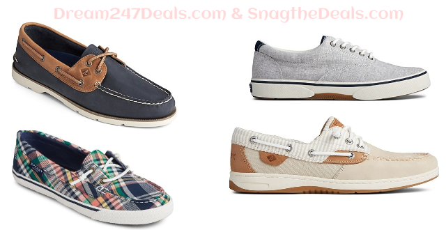 40% off select shoes Sperry Shoes + Free Shipping