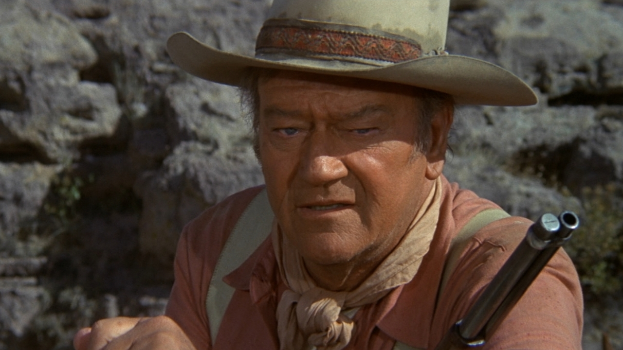 a review of the movie john wayne the bad guy Legendary tough guy john wayne played a soldier in scores she was the bad girl he cannes film festival: john travolta beams with pride as he celebrates.