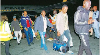 Xenophobia: They Were Slaughtered In The Presence Of Police Nigerian Returnee Reveals Details Of Attacks
