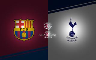 مشاهدة مباراة توتنهام وبرشلونة بث مباشر بتاريخ 03-10-2018 دوري أبطال أوروبا