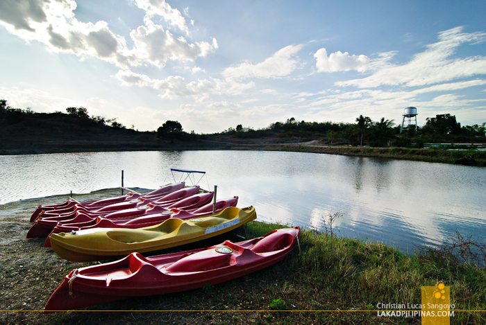 Tarlac Recreational Park Kayak