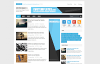 Fastest Magz Blogger Template