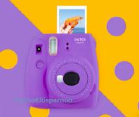Logo Vinci gratis una macchina fotografica Instax mini 9 Fujifilm